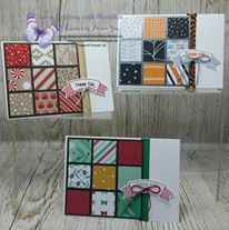 thank you cards Ann's PaperWorks  Ann Lewis  Stampin' Up! (Aus) available from my online store 24/7