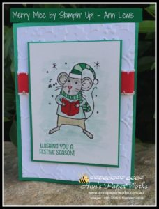 Merry Mice Stamp Set, Creative Class, Stampin' Up! Ann's PaperWorks Ann Lewis Stampin' Up! (Aus) Stampin' Up! 2016 Holiday Catalogue  online store 24/7