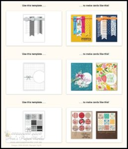 card sketches Ann's PaperWorks  Ann Lewis  Stampin' Up! (Aus) available from my online store 24/7