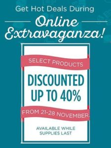 online extravaganza, Ann's PaperWorks| Ann Lewis| Stampin' Up! (Aus) available from my online store 24/7