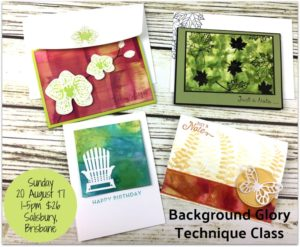 card making class, August Technique Teaser Creative Class, Background Glory, Stampin' Up! Ann's PaperWorks, Ann Lewis, Stampin' Up! (Aus)|Stampin' Up! 2017 Christmas Holiday Catalogue| online store 24/7
