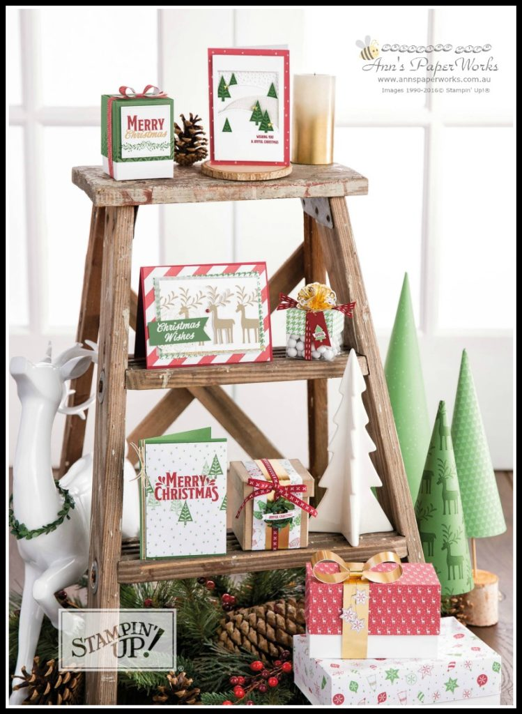 Be Merry Suite Stampin' Up!, Christmas in July Creative Class Stampin' Up! Ann's PaperWorks Ann Lewis Stampin' Up! (Aus)|card class