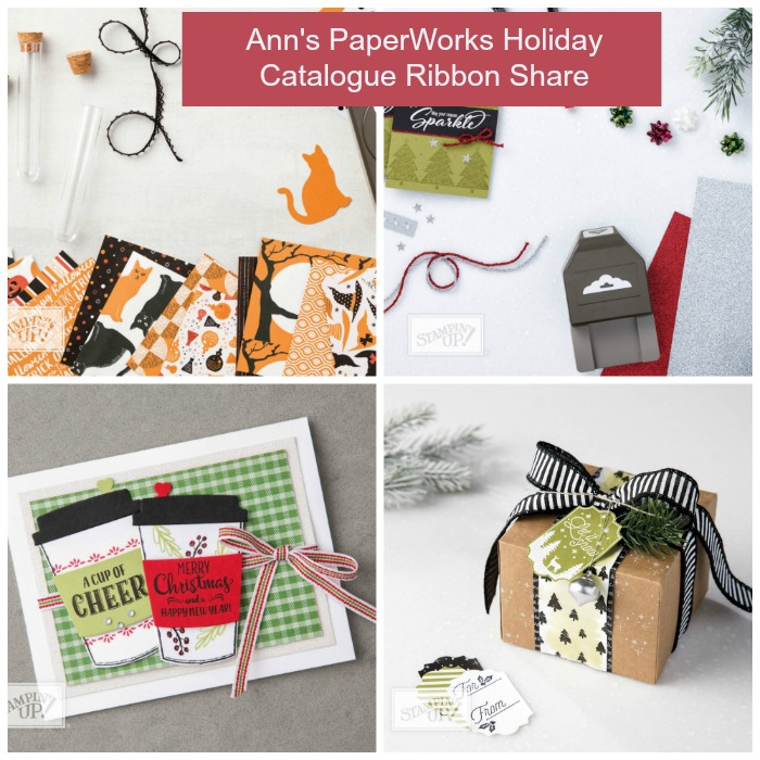 Stampin' Up! Ribbon Share 1-4 metres of each ribbon, Christmas Holiday Catalogue, Stampin' Up!, Stampin' Up! 2017 Christmas Holiday Catalogue Ann's PaperWorks| Ann Lewis| Stampin' Up! (Aus) online store 24/7