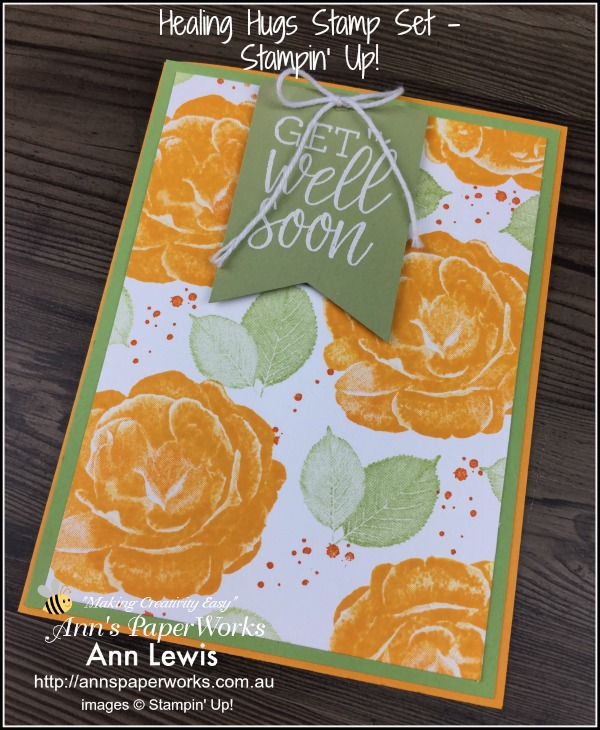 Healing Hugs Stamp Set , Distinktive Stamps by Stampin' Up! Stampin' Up! 2018-19 Catalogue Ann's PaperWorks  Ann Lewis  Stampin' Up! (Aus) online store 24/7