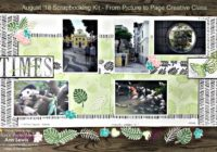 double page scrapbooking layout, amazing times, Tropical Chic Stamp Set, Tropical Escape Designer Series Paper, Springtime Impressions Framelits, Tropical Thinlit Dies, Stampin' Up! 2018-19 Catalogue Ann's PaperWorks| Ann Lewis| Stampin' Up! (Aus) online store 24/7