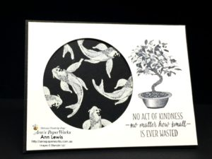 All the Good Things Stamp Set, heat embossing, black and white card, Stampin' Up! 2018-19 Catalogue Ann's PaperWorks  Ann Lewis  Stampin' Up! (Aus) online store 24/7