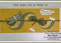 Dandy Garden Suite Circle Layering Card, Dragonfly Punch, Dandy Garden Bundle, craft classes, Ann Lewis, Ann's PaperWorks, cardmaking, handmade cards, Stampin' Up! 2021 mini Catalogue Ann's PaperWorks| Ann Lewis| Stampin' Up! (Aus) online store 24/7
