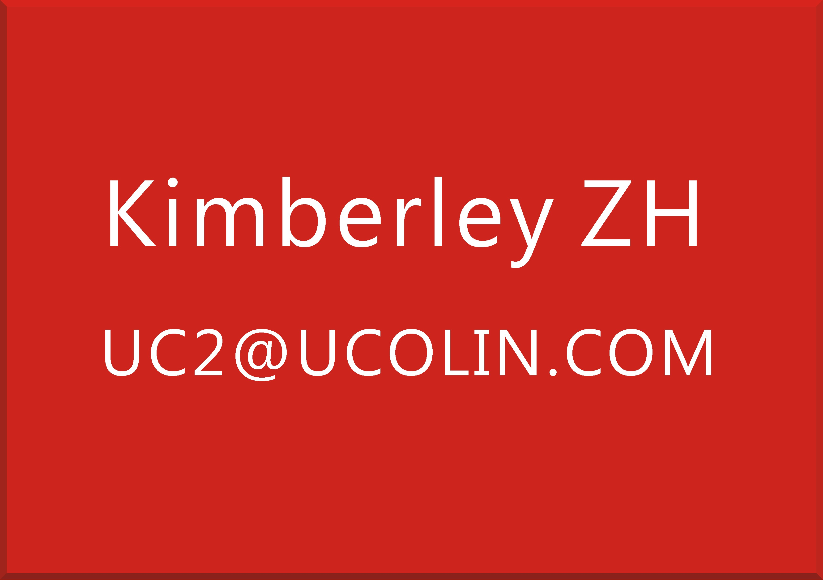 KIMBERLEY UC2@UCOLIN.COM