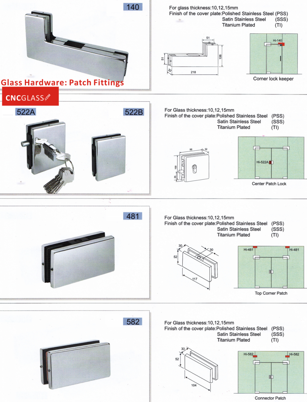 Glass hardware patch fittings_conew2
