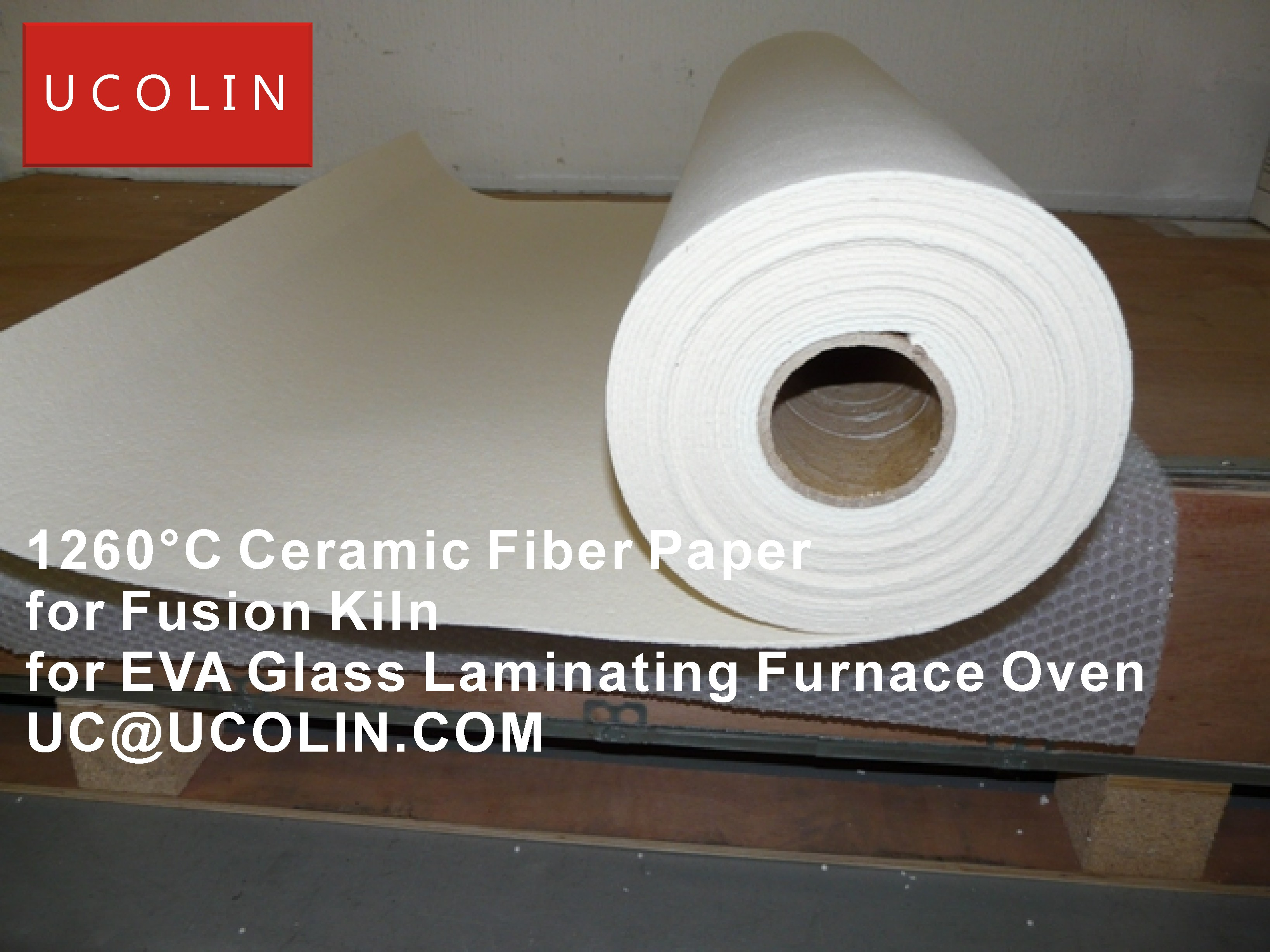 02-1260°C Ceramic Fiber Paper for Fusion Kiln