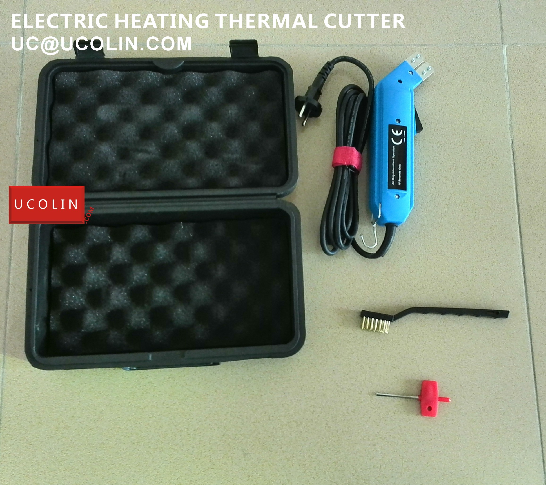 001 ELECTRIC HEATING CUTTER FOR SATINE RIBBON