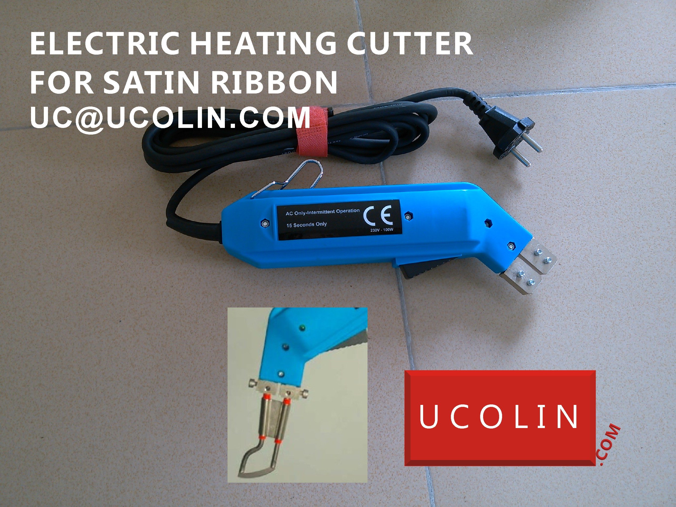 ELECTRIC HEATING CUTTER FOR SATINE RIBBON