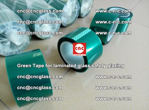 Green Tape for laminated glass safety glazing, EVA FILM, PVB FILM, SGP INTERLAYER (10)