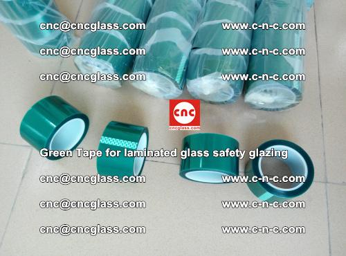 Green Tape for laminated glass safety glazing, EVA FILM, PVB FILM, SGP INTERLAYER (28)