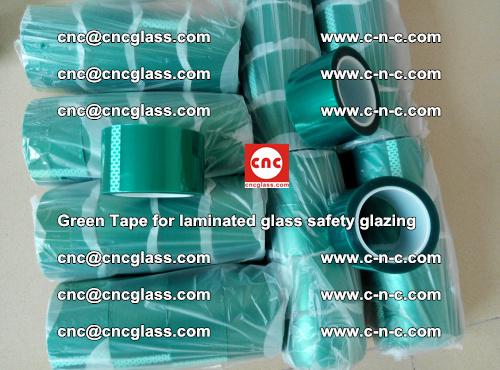 Green Tape for laminated glass safety glazing, EVA FILM, PVB FILM, SGP INTERLAYER (30)