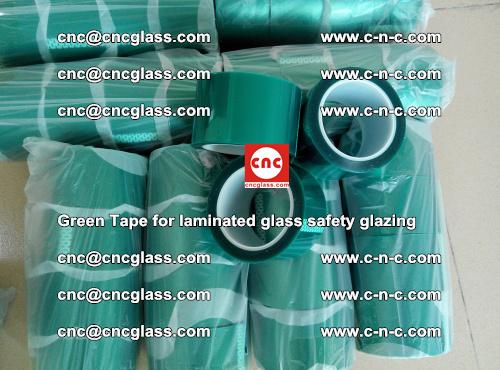 Green Tape for laminated glass safety glazing, EVA FILM, PVB FILM, SGP INTERLAYER (37)