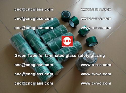 Green Tape for laminated glass safety glazing, EVA FILM, PVB FILM, SGP INTERLAYER (5)