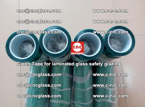 Green Tape for laminated glass safety glazing, EVA FILM, PVB FILM, SGP INTERLAYER (50)