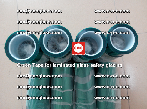 Green Tape for laminated glass safety glazing, EVA FILM, PVB FILM, SGP INTERLAYER (51)