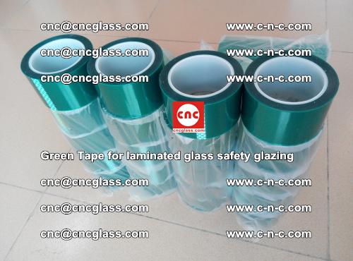 Green Tape for laminated glass safety glazing, EVA FILM, PVB FILM, SGP INTERLAYER (53)