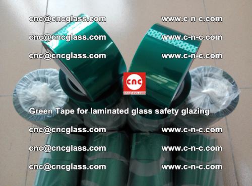 Green Tape for laminated glass safety glazing, EVA FILM, PVB FILM, SGP INTERLAYER (68)