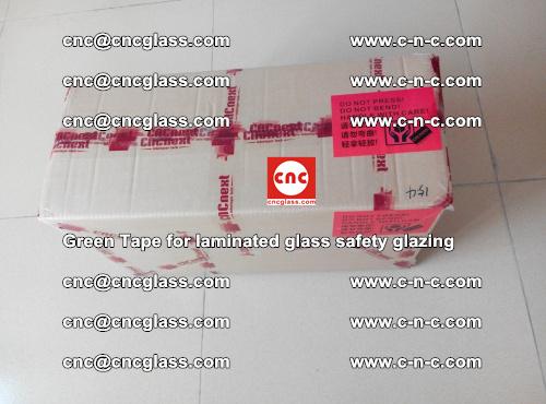 Green Tape for laminated glass safety glazing, EVA FILM, PVB FILM, SGP INTERLAYER (79)