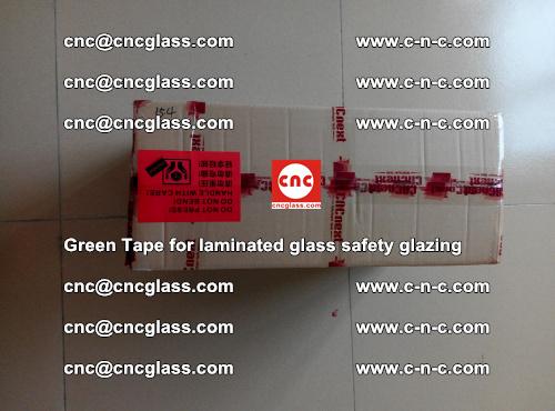 Green Tape for laminated glass safety glazing, EVA FILM, PVB FILM, SGP INTERLAYER (82)