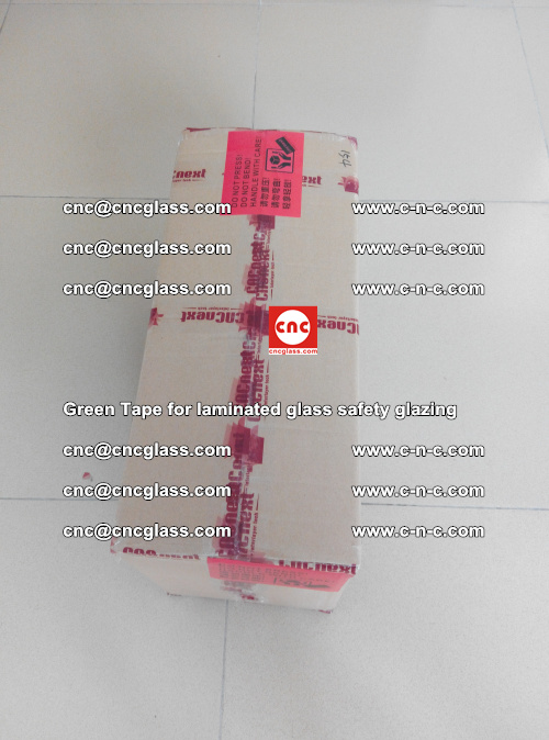 Green Tape for laminated glass safety glazing, EVA FILM, PVB FILM, SGP INTERLAYER (84)