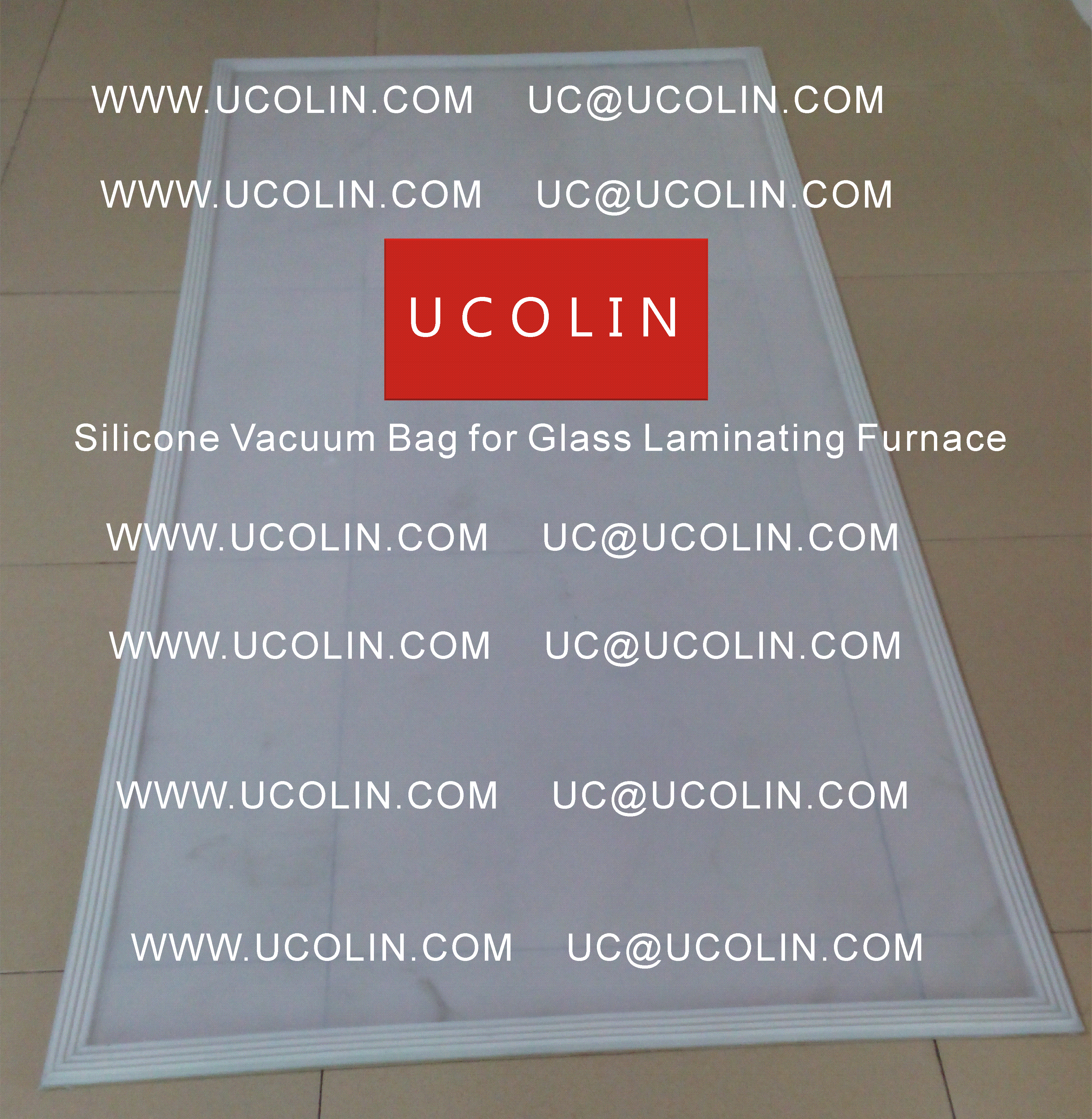 03 Silicone Bag for Glass Laminating Furnace Vacuuming