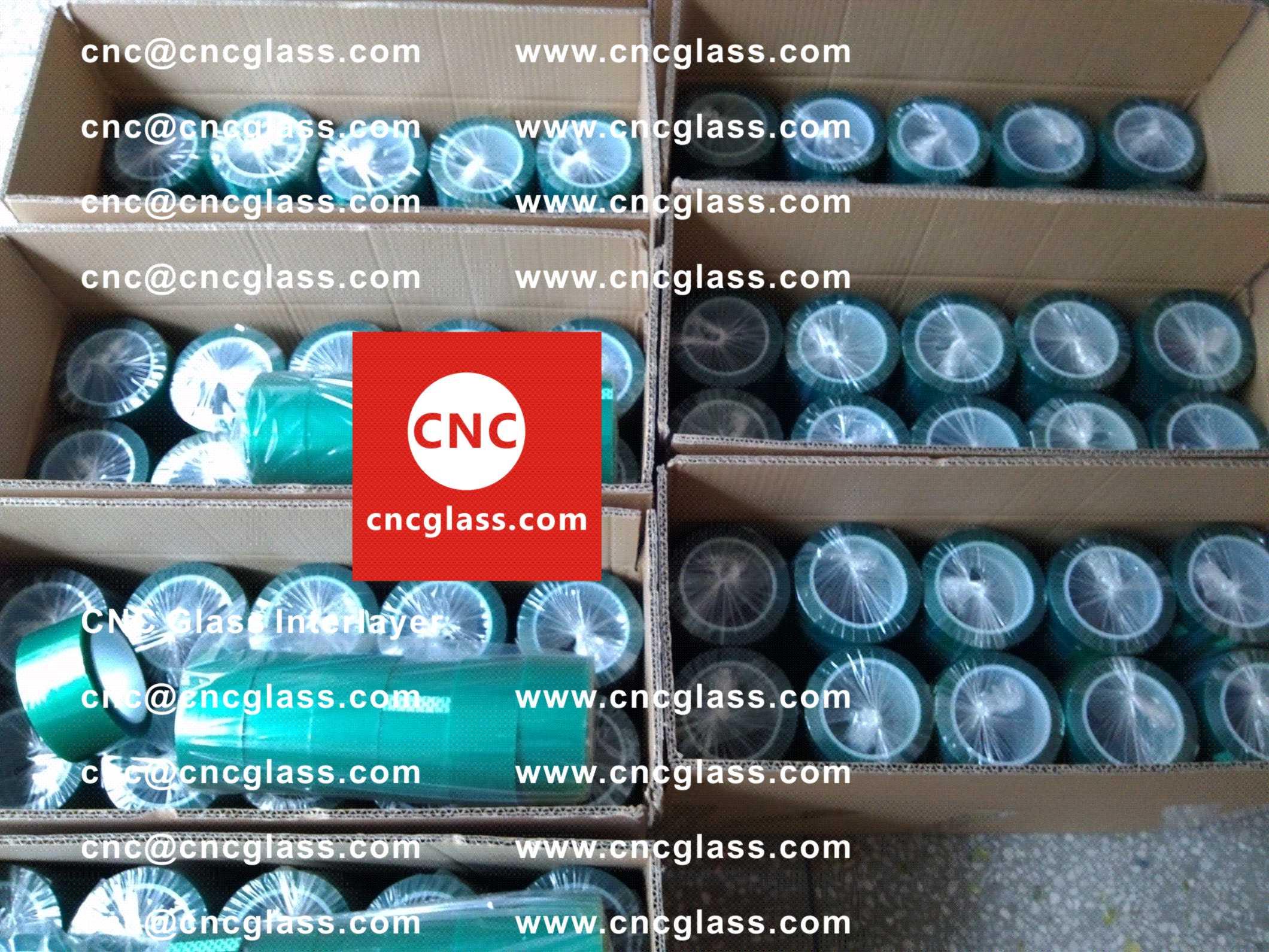 001 Green Tape for safety glazing, eva glass laminating