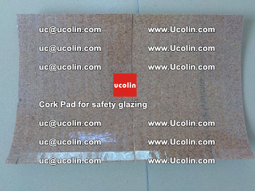 Cork Pad for glass, safety glazing (12)