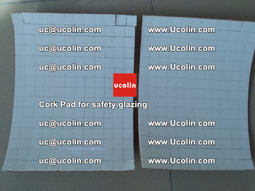 Cork Pad for glass, safety glazing (2)