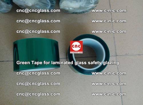Green Tape for laminated glass safety glazing, EVA FILM, PVB FILM, SGP INTERLAYER (14)