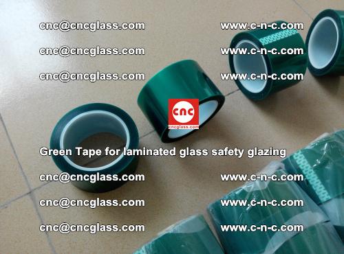 Green Tape for laminated glass safety glazing, EVA FILM, PVB FILM, SGP INTERLAYER (17)