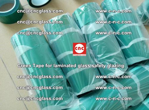 Green Tape for laminated glass safety glazing, EVA FILM, PVB FILM, SGP INTERLAYER (21)