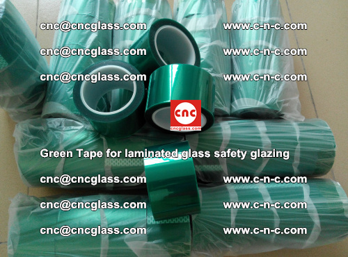 Green Tape for laminated glass safety glazing, EVA FILM, PVB FILM, SGP INTERLAYER (43)
