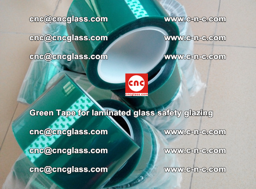 Green Tape for laminated glass safety glazing, EVA FILM, PVB FILM, SGP INTERLAYER (62)