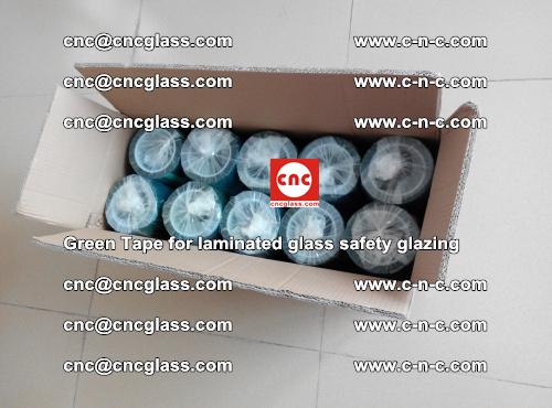 Green Tape for laminated glass safety glazing, EVA FILM, PVB FILM, SGP INTERLAYER (74)