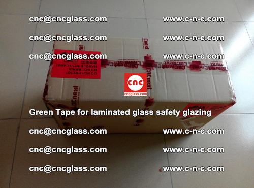 Green Tape for laminated glass safety glazing, EVA FILM, PVB FILM, SGP INTERLAYER (81)