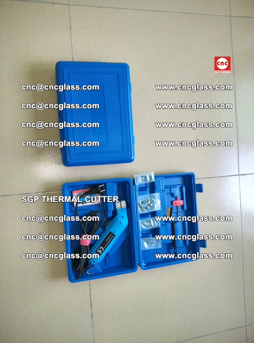 SGP THERMAL CUTTER, cleaning safety laminated galss edges (1)