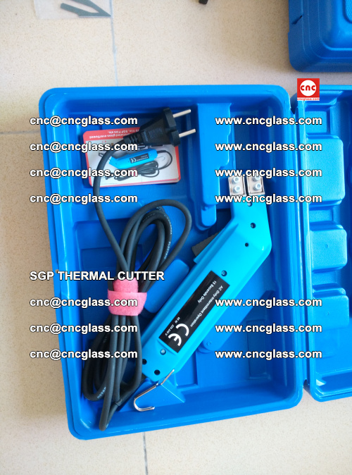 SGP THERMAL CUTTER, cleaning safety laminated galss edges (20)