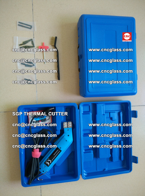 SGP THERMAL CUTTER, cleaning safety laminated galss edges (23)