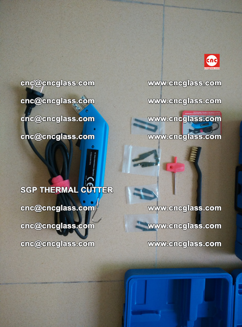 SGP THERMAL CUTTER, cleaning safety laminated galss edges (42)