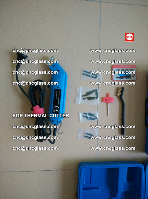 SGP THERMAL CUTTER, cleaning safety laminated galss edges (43)