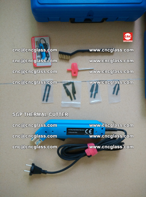 SGP THERMAL CUTTER, cleaning safety laminated galss edges (47)