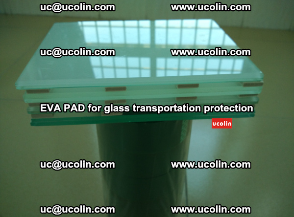 EVA CORK PAD for laminated safety glass transportation protection (37)
