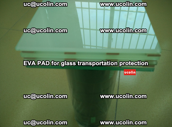 EVA CORK PAD for laminated safety glass transportation protection (44)