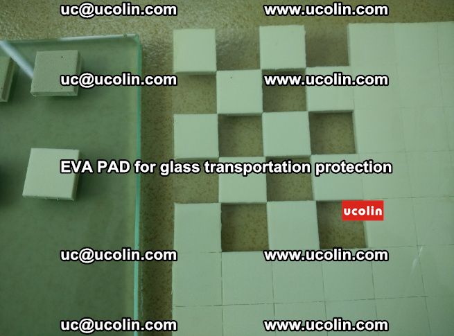 EVA PAD for safety laminated glass transportation protection (100)
