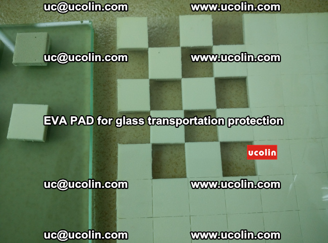 EVA PAD for safety laminated glass transportation protection (101)
