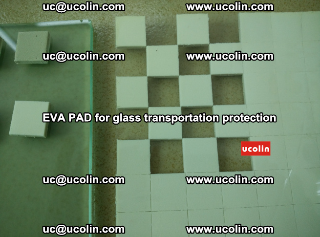 EVA PAD for safety laminated glass transportation protection (102)